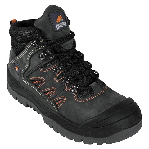 Industrial Workwear - Mongrel MB 480-080 Black Hiker Steel Cap Boot 21e740fb2